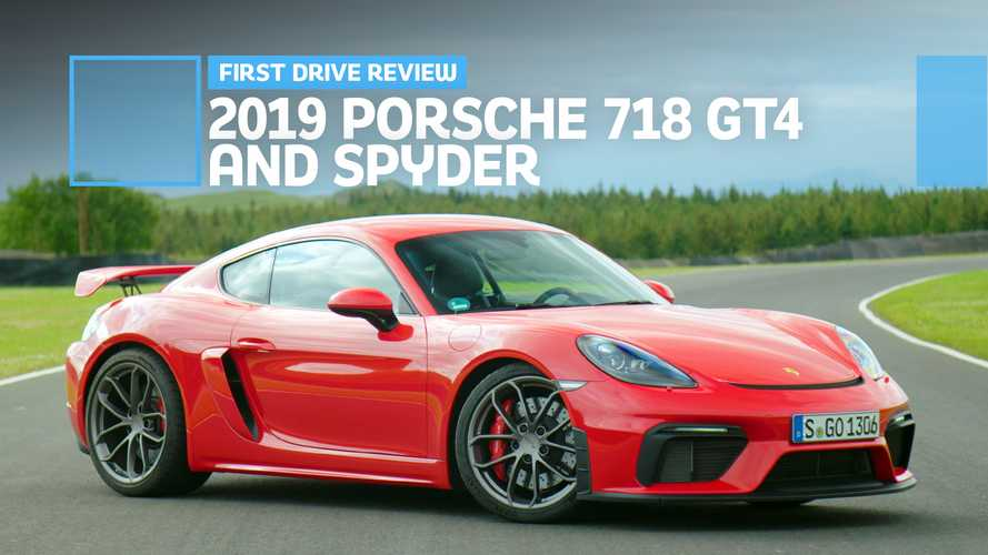 2019 Porsche 718 Cayman GT4 And Boxster Spyder First Drive: Pure Bliss
