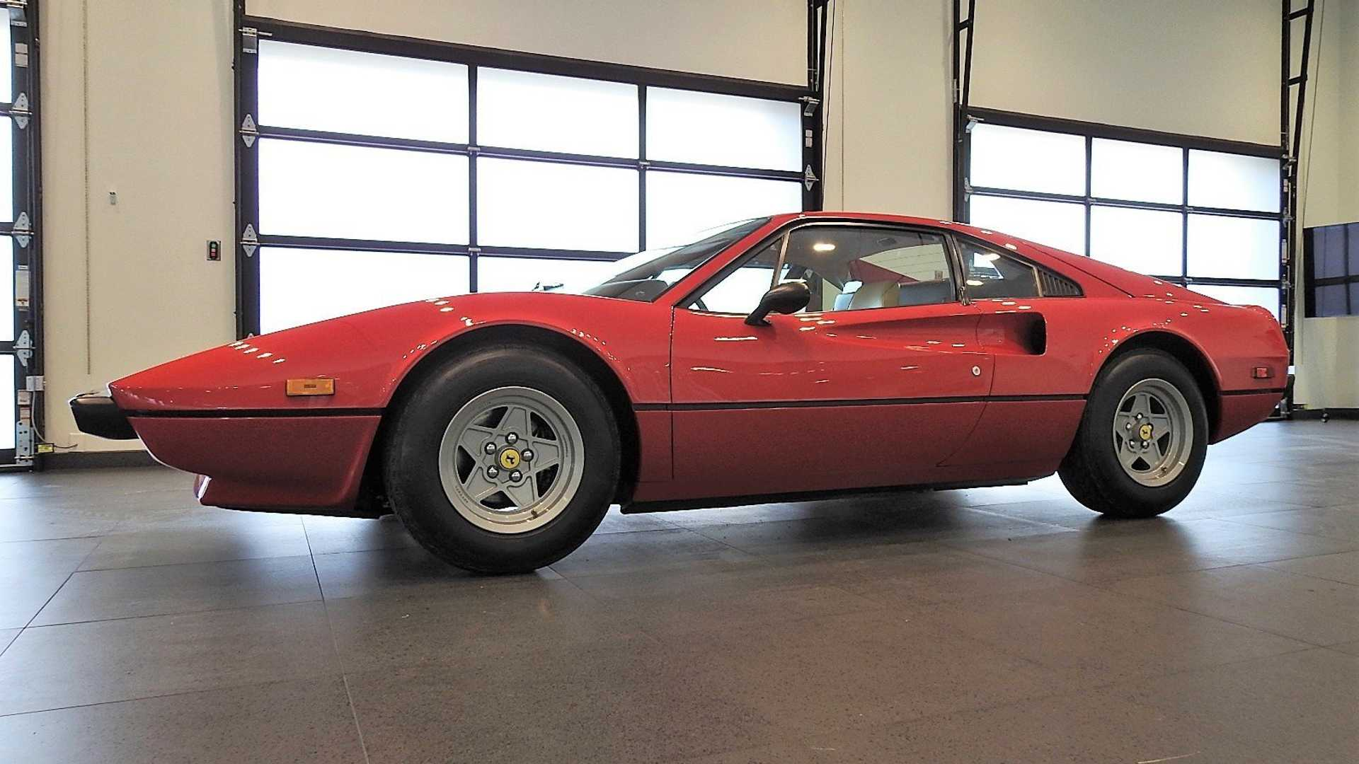 "[""Rare, Low-Mileage 1976 Ferrari 308 GTB Vetroresina Pops Up For Sale""]"