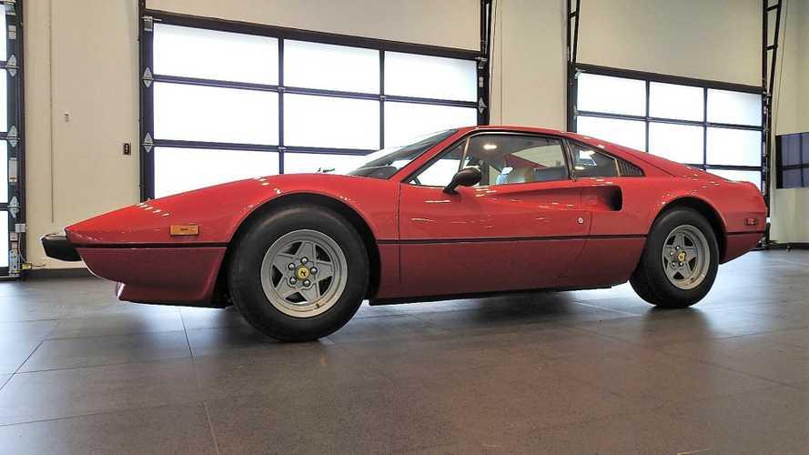 Rare low mileage 1976 ferrari 308 gtb vetroresina pops up for sale