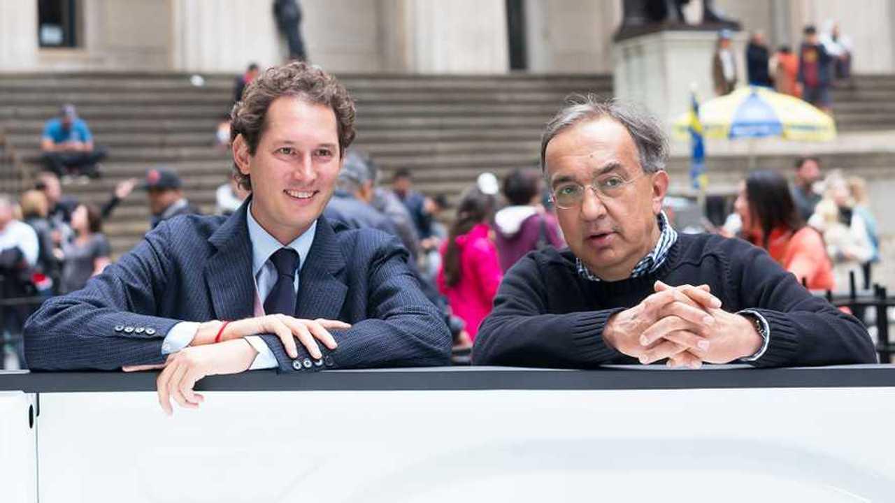 John Elkann insieme a Sergio Marchionne