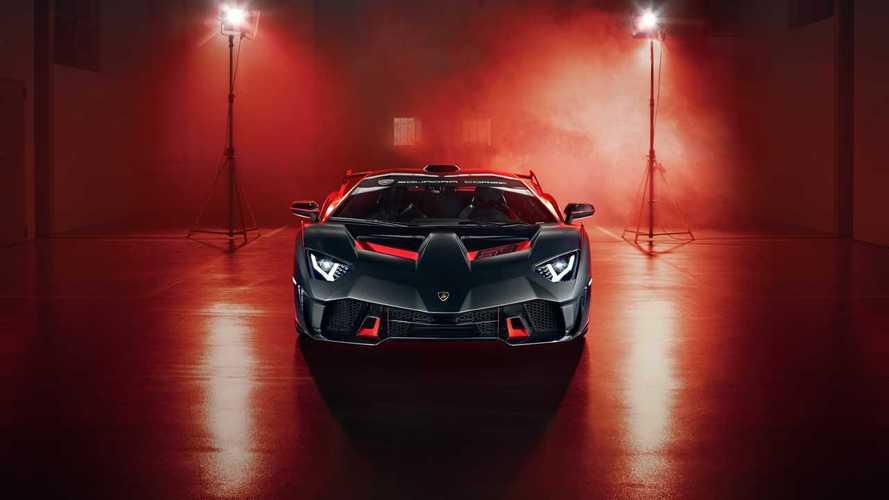 Lamborghini SC18 - versenyautó, közutakra optimalizálva