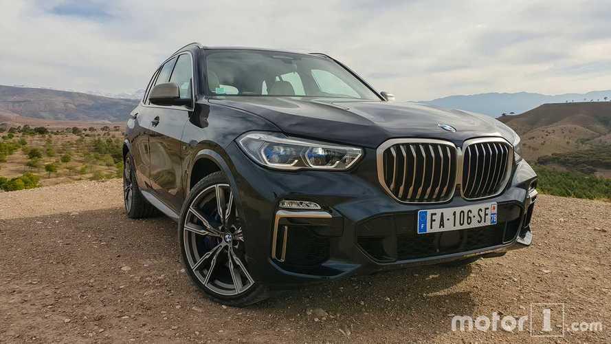Essai BMW X5 M50d (2019)