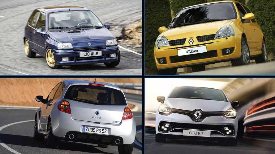Del 5 Turbo de 1980 al Clio R.S. 2020: 13 pequeños Renault deportivos