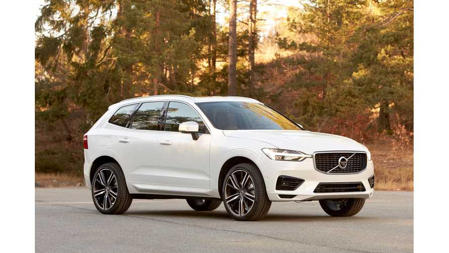 Plug-In Volvo XC60 T8 Enters U.S. Next Month With 10.4 kWh Battery