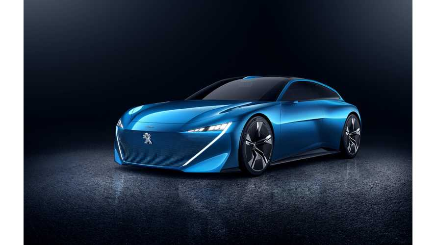 Peugeot Instinct Autonomous PHEV Concept Wagon May Encourage You To Go For A Walk