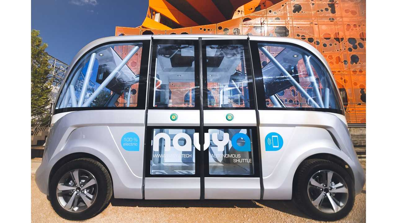 Navya Will Expand Arma Driverless Shuttle Tests In Oceania