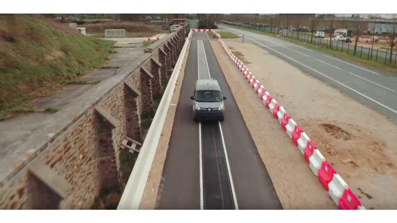 Qualcomm Renault Wireless Charging Road