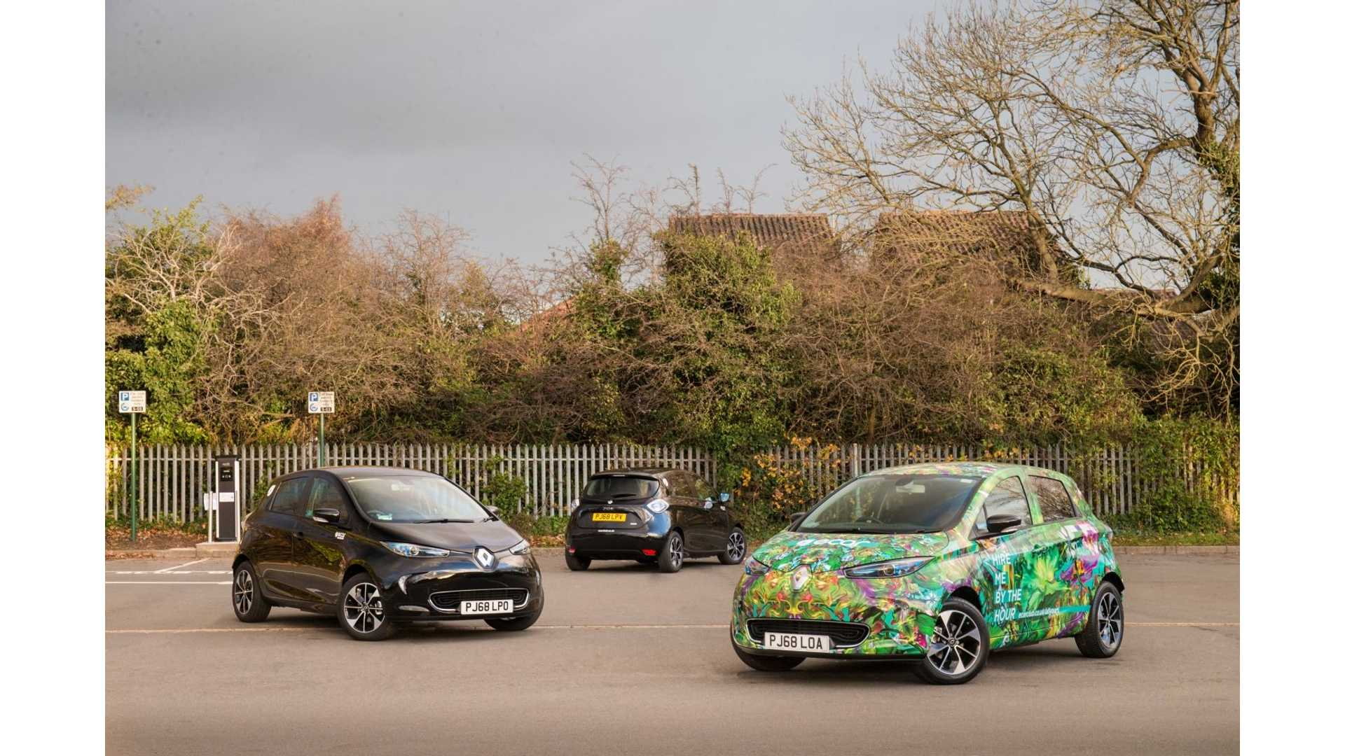 Europcar Expands Its EV Fleet By Additional 85 Renault ZOE