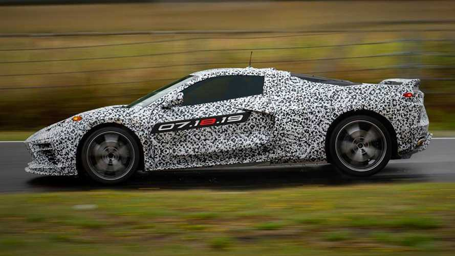 2020 C8 Chevrolet Corvette officialisation