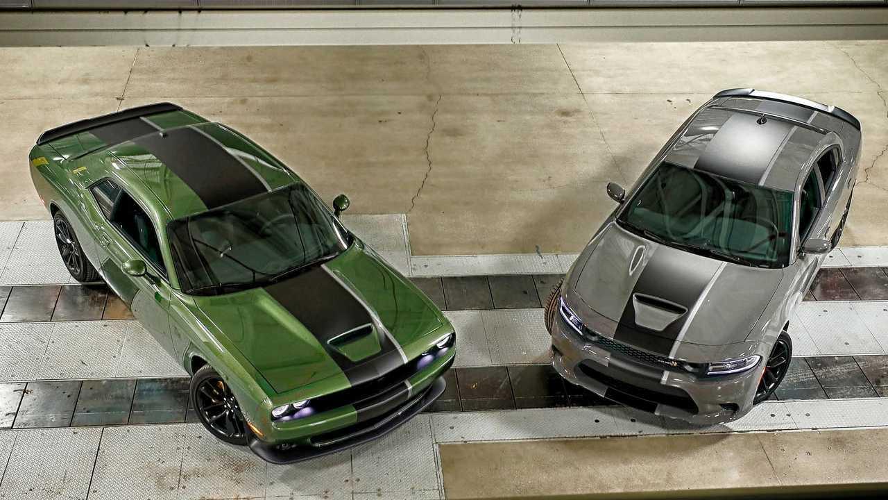 Dodge Charger Challenger Stars & Stripes