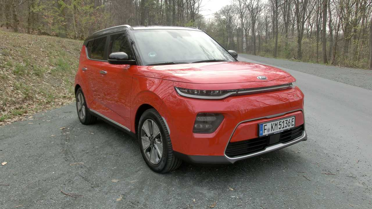 Kia e-Soul 2019 (Test in Frankfurt)