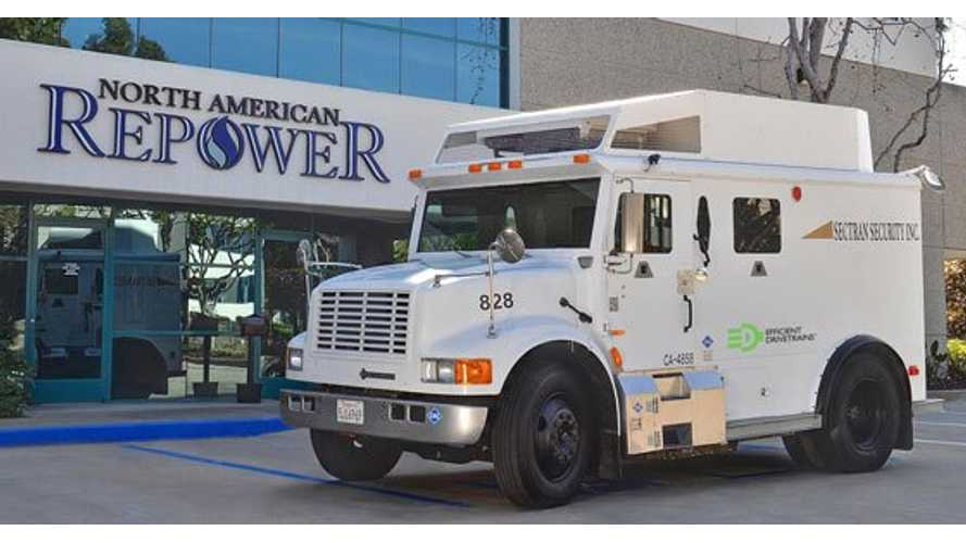 Plug-In Hybrid Armored Truck...Oh Yeah!