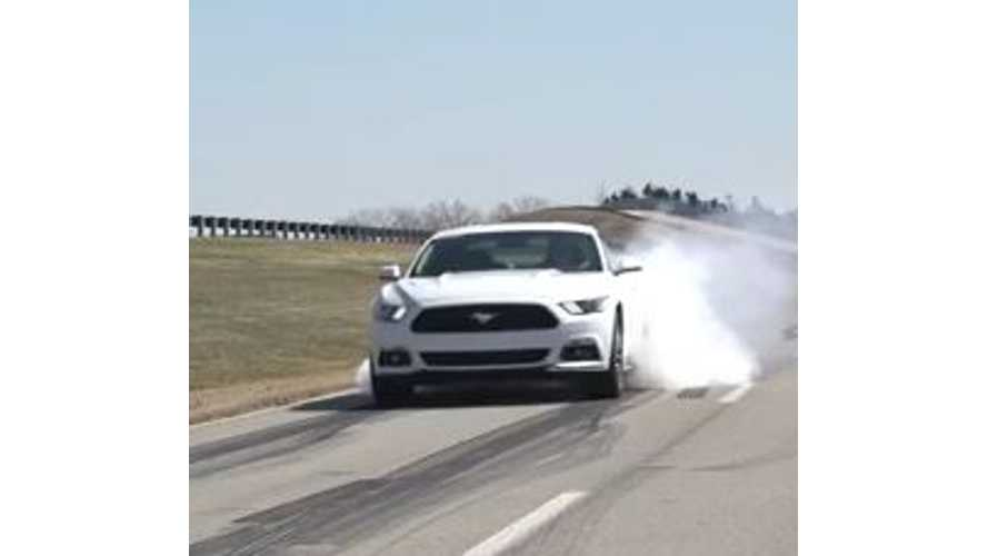 Hoorah For Progress - Or Not: With Line Lock, 2015 Ford Mustang GT Gets 0 MPG
