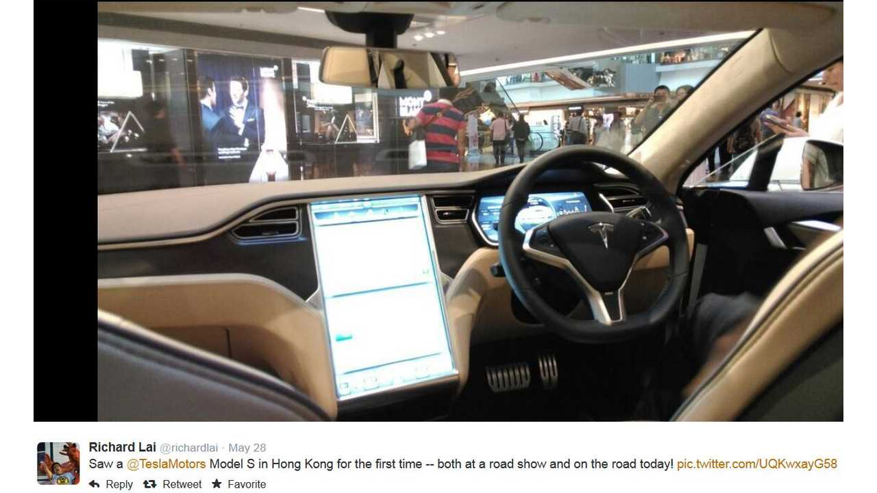 Images Of Right-Hand-Drive Tesla Model S
