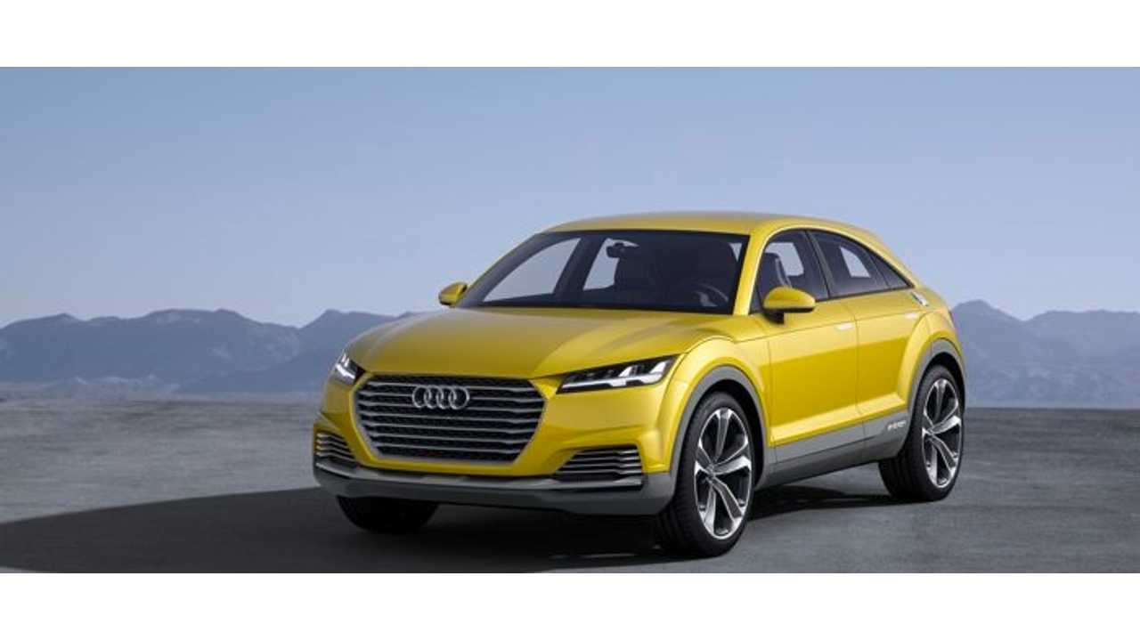 Audi TT Offroad Concept Plug-In Hybrid Revealed in China