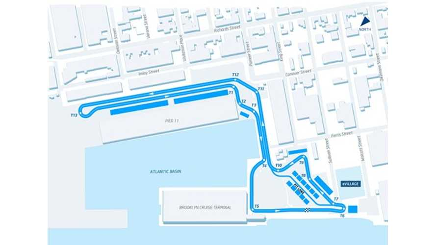 Formula E's New York Race And Track Layout Unveiled (w/video)