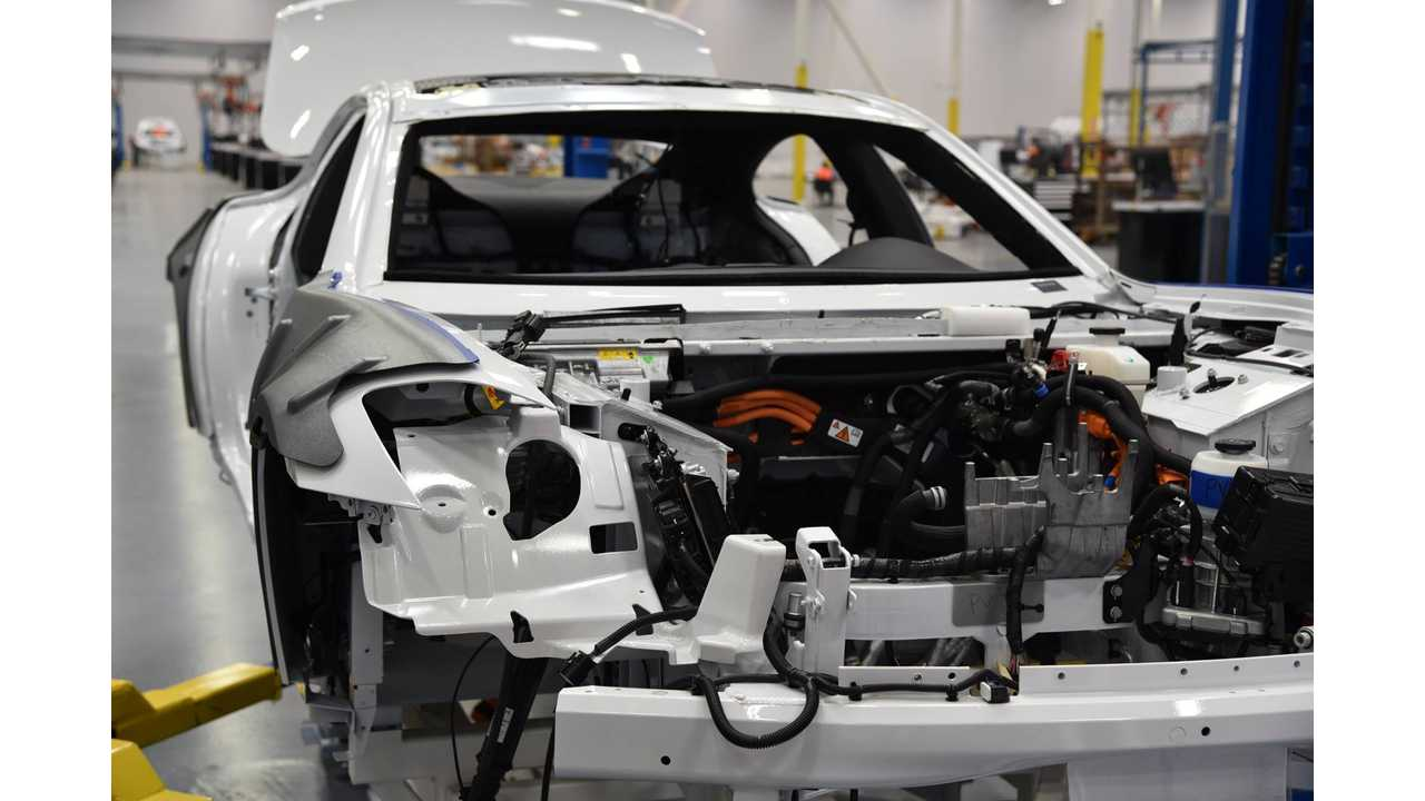First Karma Revero prototype being built in May
