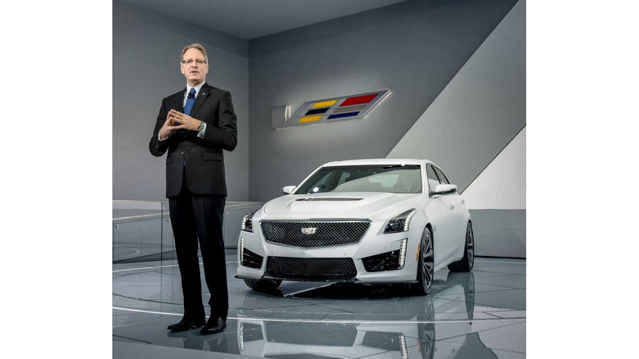 Last Week In Detroit de Nysschen Was All About The 640hp CTS-V -
