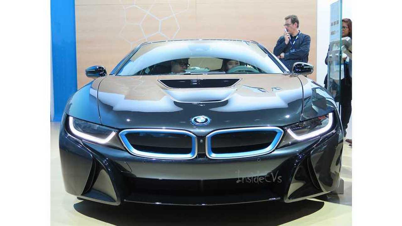 BMW i8 la autoshow 2014
