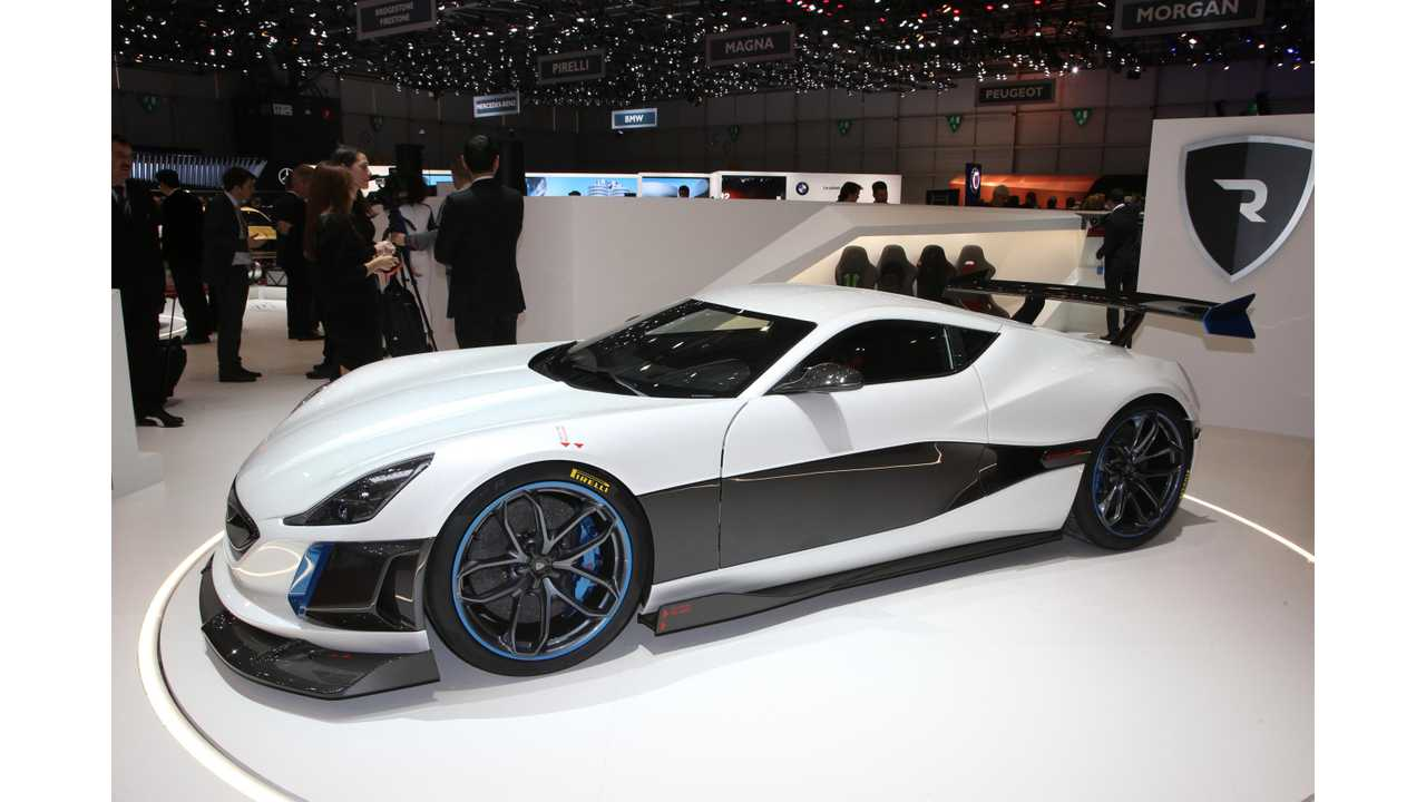 Rimac Concept_S - only two to be built in 2018