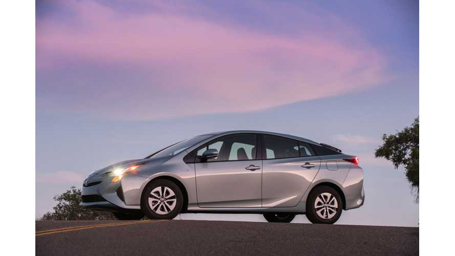Toyota Launches New Prius PHV in Japan - Targets 2,500 Sales Monthly, 10 Million Hybrid Sales Achieved
