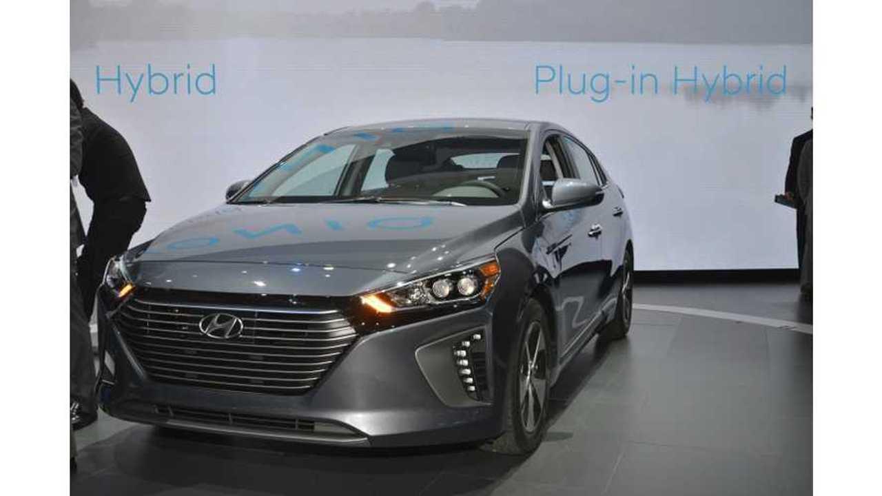 Hyundai IONIQ Plug-In Hybrid Test Drive Review Nets 3 Of 5 Stars