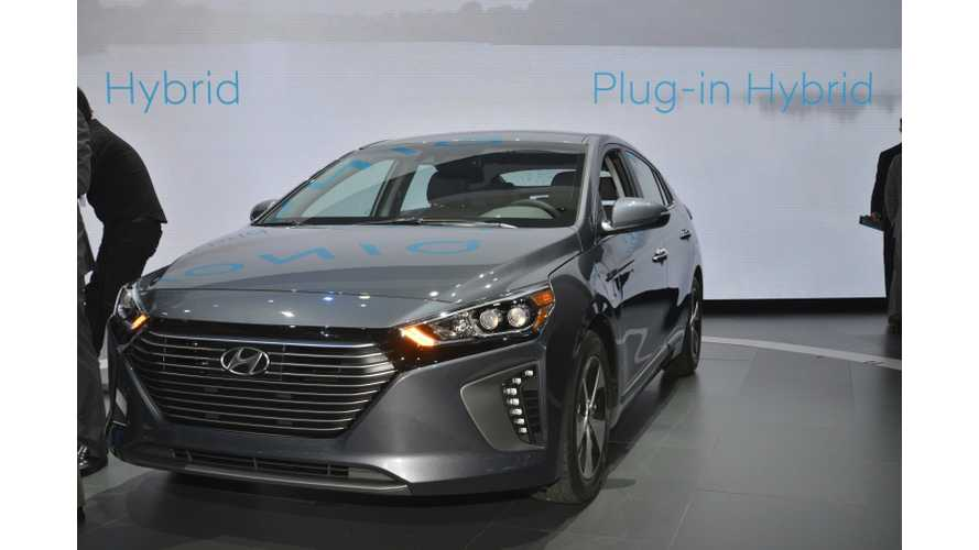 Hyundai IONIQ Plug-In Hybrid Test Drive Review Nets 3 Of 5 Stars