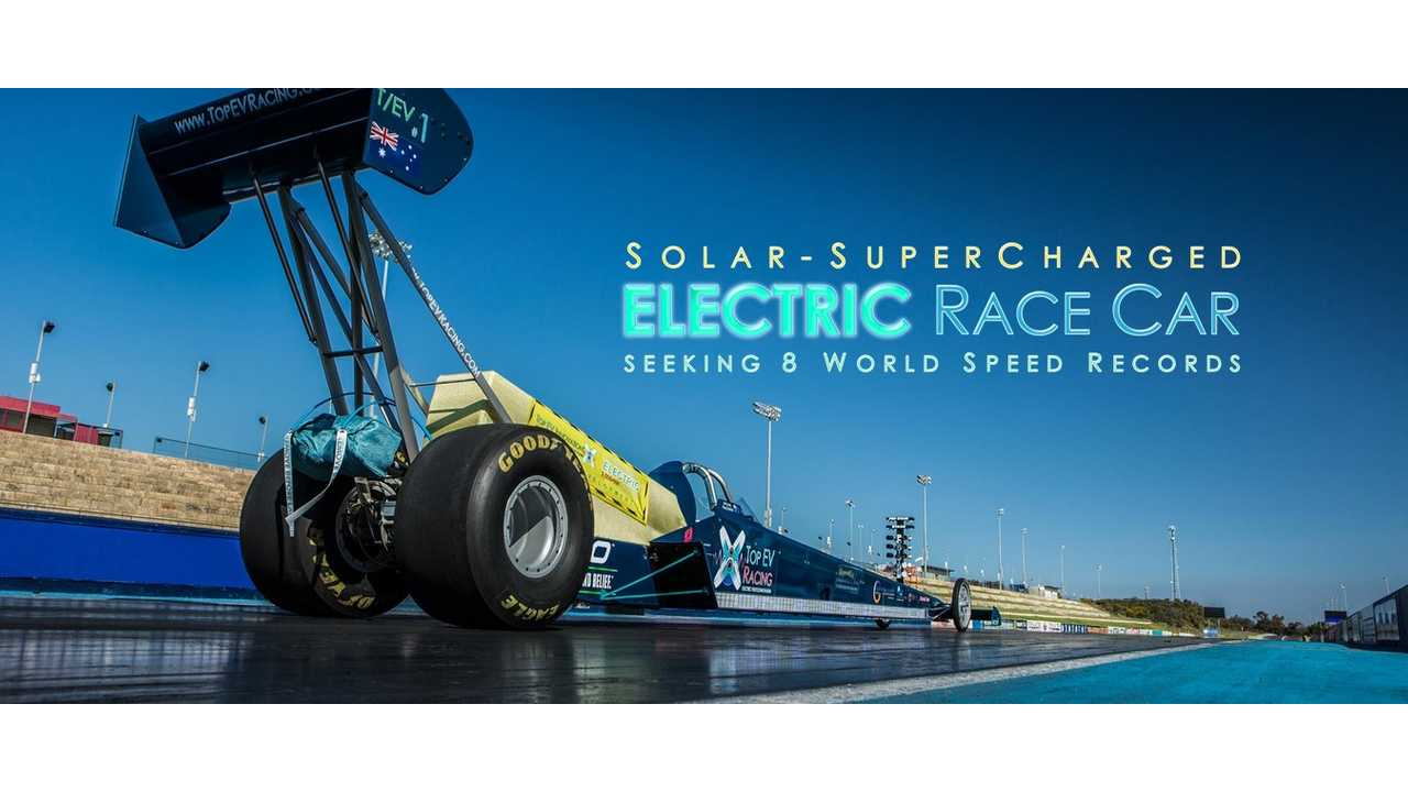 Electric Dragster Boasts 1,000 Volts, 5,000 HP, 17,000 Pound-Feet Of Torque