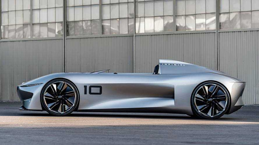 Inifiniti Prototype 10 Electric Concept Debuts In Super-Sleek Form