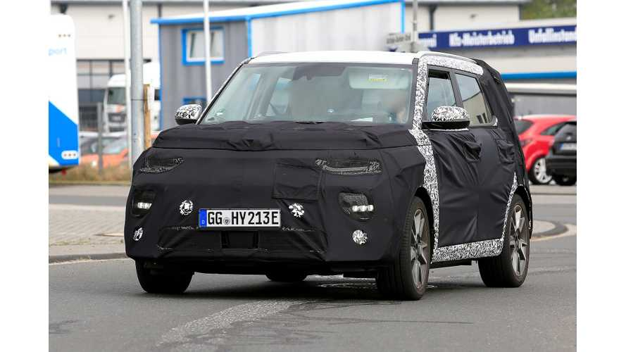 2019 Kia Soul EV Spied, May Offer All-Wheel Drive