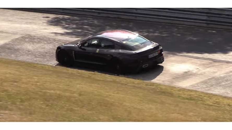 Porsche Taycan Caught Aggressively Lapping Nurburgring
