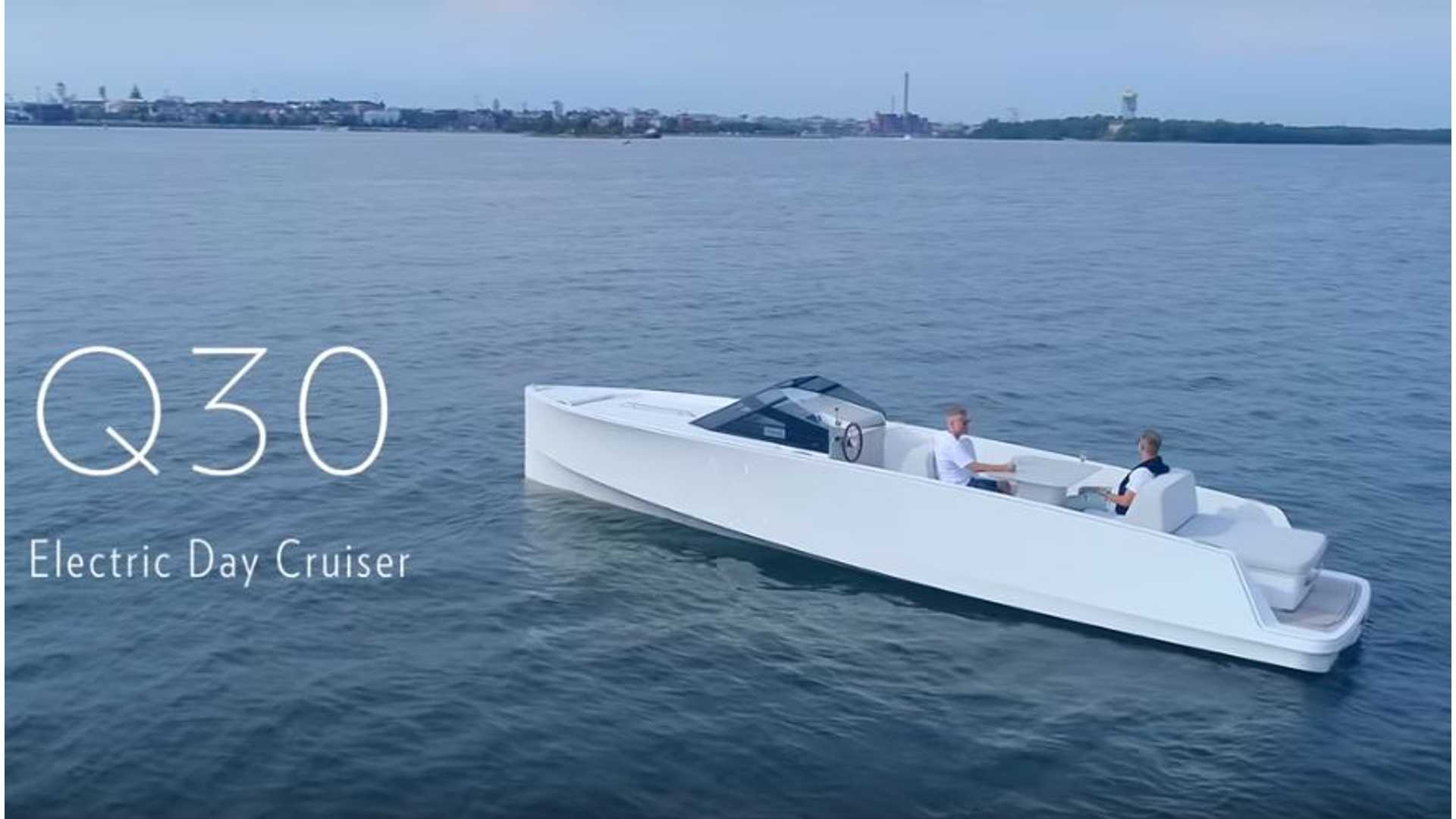 Q-Yachts Unveils Q30 Electric Day Cruiser: Tesla Of The Sea