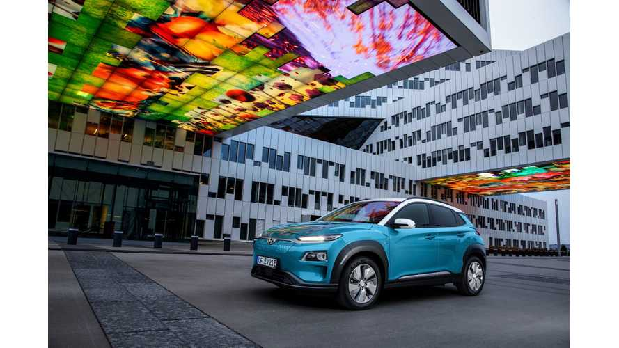 Hyundai Kona Electric Expected To Be India's First Electric SUV