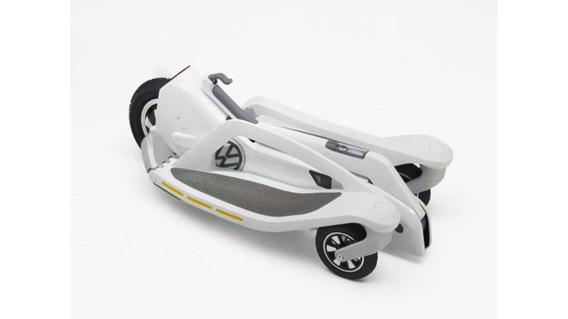 Volkswagen Unveils Foldable Electric Scooter (concept) Seg-Thing