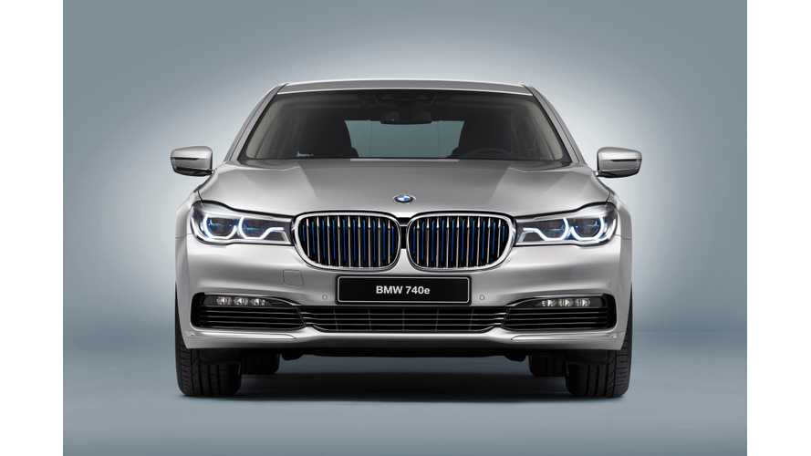 BMW 740e iPerformance Unveiled In Geneva + Specs