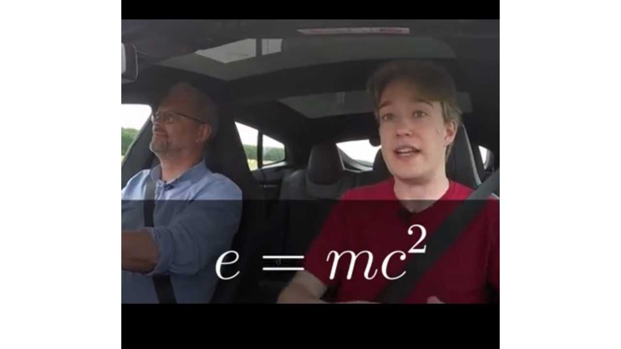 Tesla Model S P85D: Heavier When Charged? (Video)
