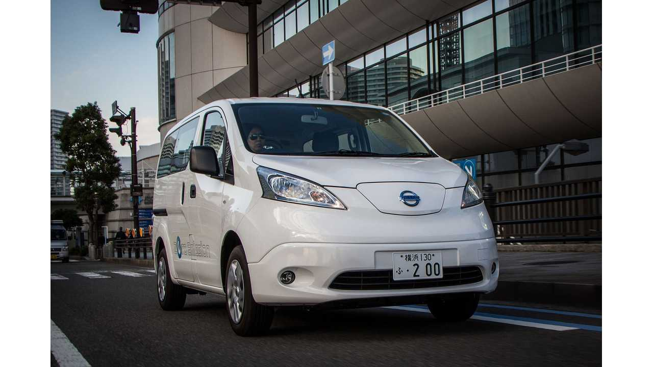 The Nissan e-NV200 Zips To 60 MPH in... (video)