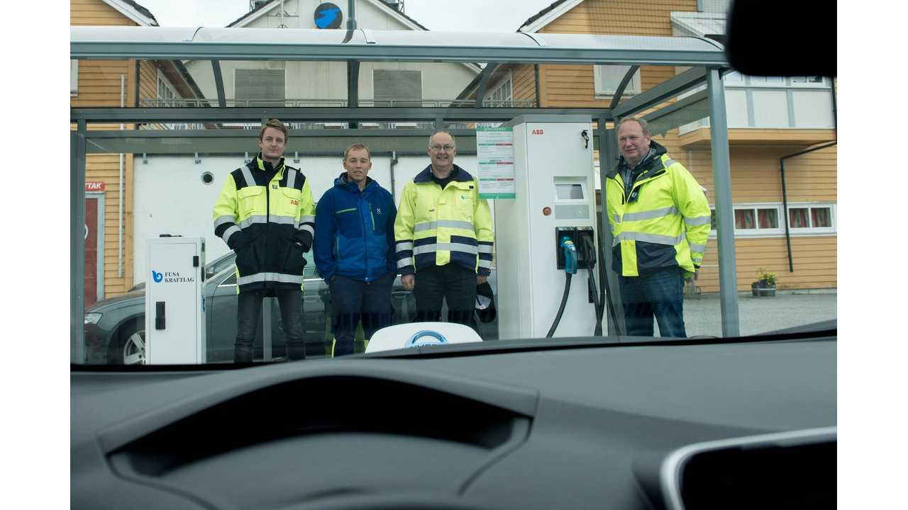 ABB Delivers 100th DC Fast Charger In Norway