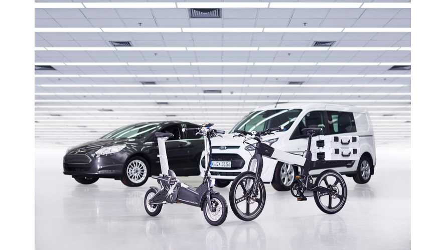 Ford Smart Mobility Plan Fields The MoDe:Me, The MoDe:Pro eBikes
