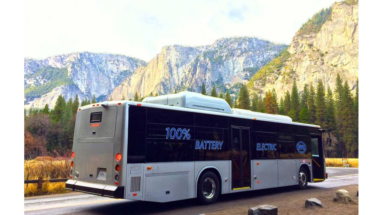 BYD Projects Sales Of 200 Electric Buses In US, Globally Crosses 5,000 Sold
