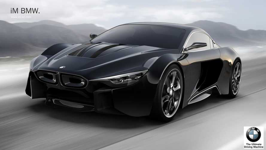 BMW i8M Renderings