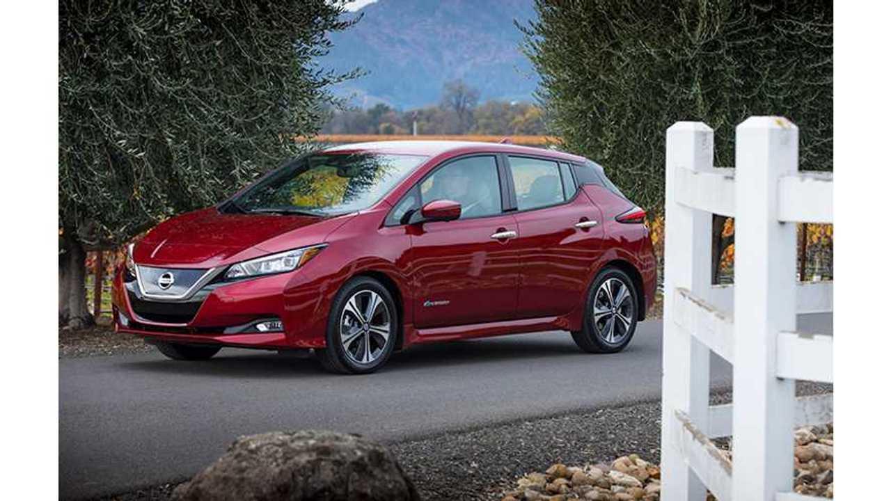 Nissan LEAF Nabs Coveted