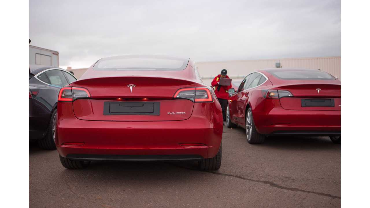 Tesla Model 3s Arrive In Chinese Port Ready For Deliveries