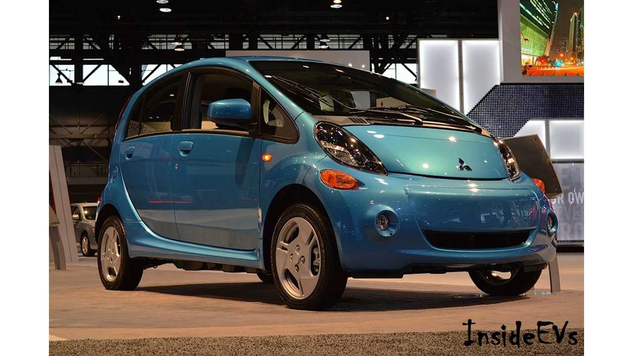 Mitsubishi Spills Details On 2016 i-MiEV - Price Unchanged