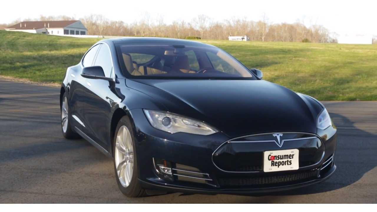 Tesla Model S - Top Pick of 2015 - Consumer Reports