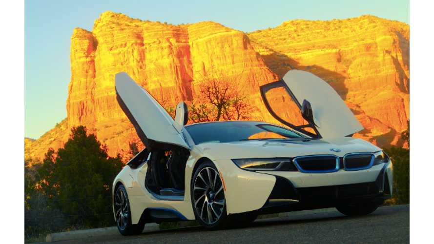 Road Tripping In A BMW i8