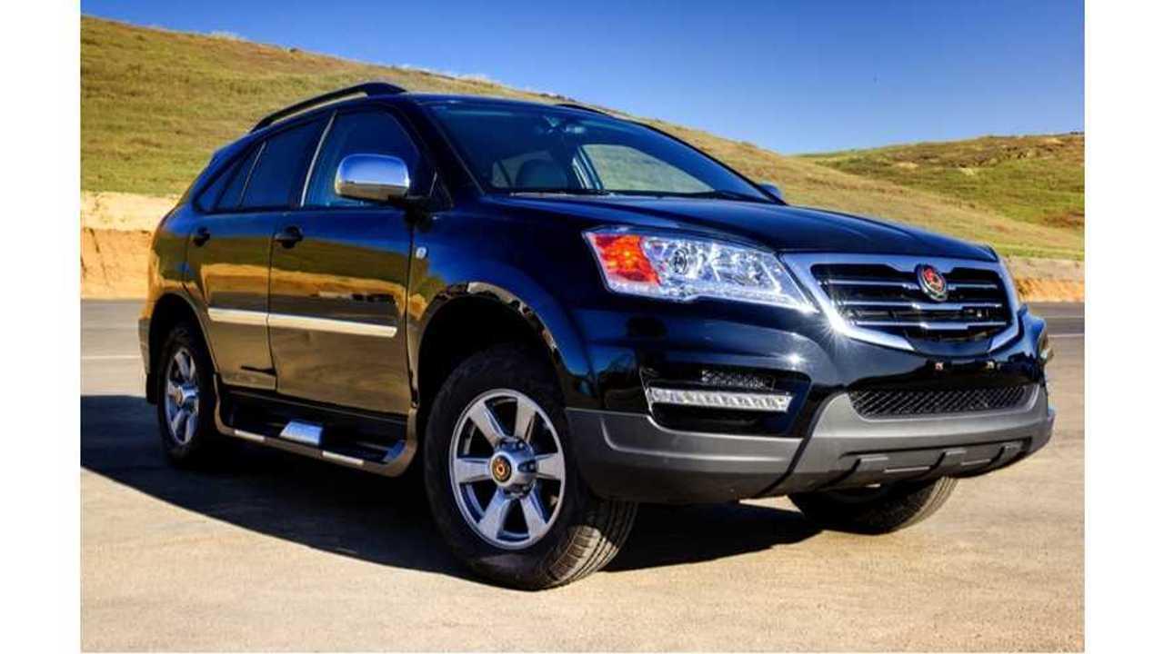 Efficient Drivetrains Launches Asian Market PHEV SUV