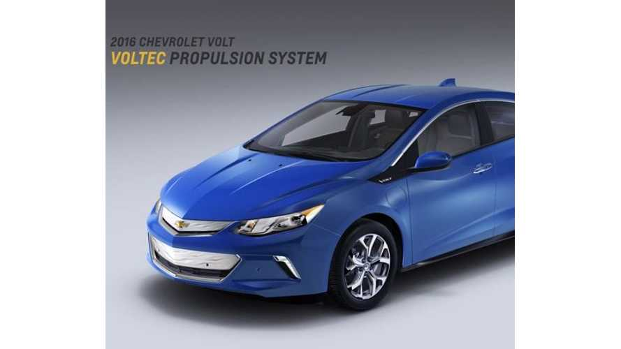 General Motors' Execs Discuss 2016 Chevrolet Volt - Videos