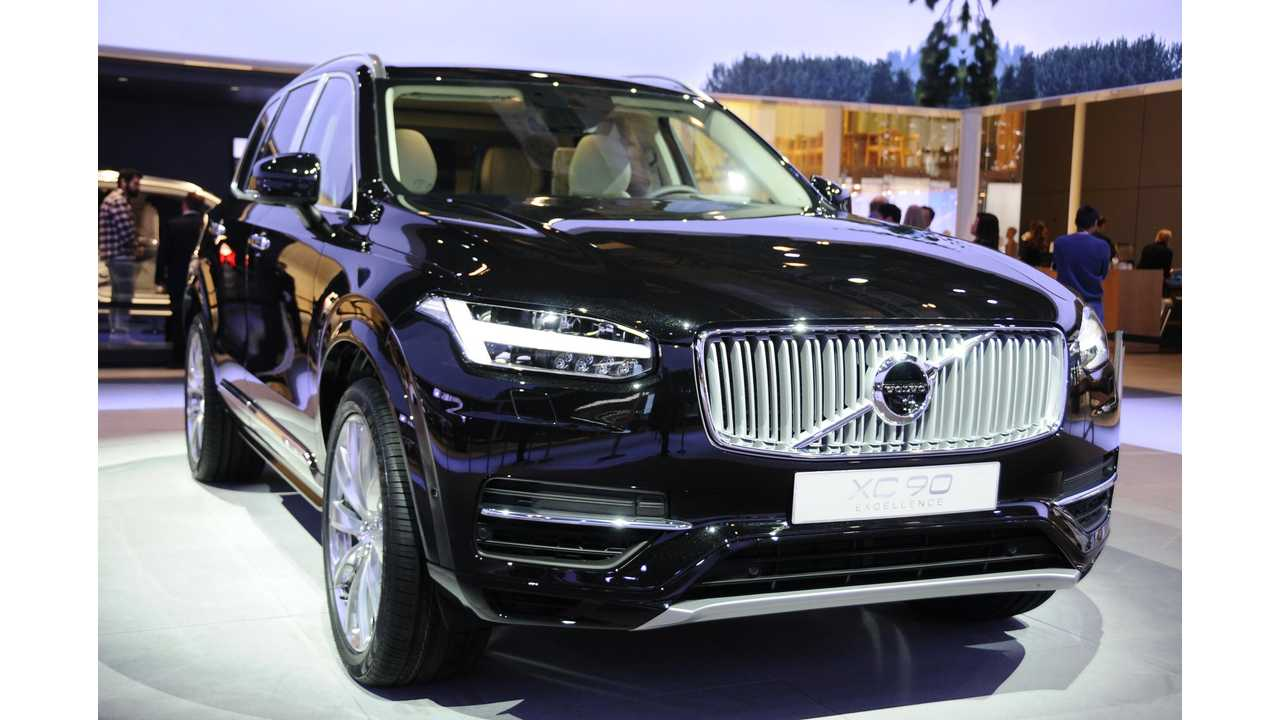 Volvo XC90 T8 Twin Engine - A Rare Plug-In SUV Offering