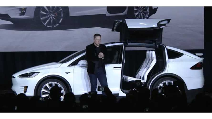 Tesla Sues Supplier For Delays In Designing Model X's Falcon Wing Doors